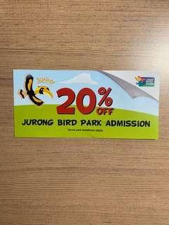 Jurong Bird Park Voucher (20% Off)