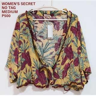 Women's Secret Floral Cover Up