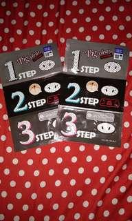 Holika Holika Pig-nose Clear Storng 3 Step kit