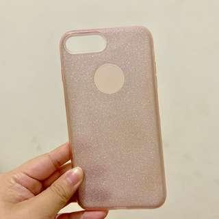 Pink Glittery Case for Iphone 7+/8+