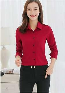 🚚 Woman Blouse Red