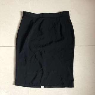 Black Skirt rok kerja