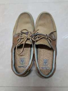 Clark leather shoes