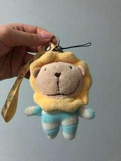 Lion Stuffed Toy Keychain