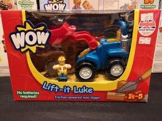 Lift It Luke Digger Truck