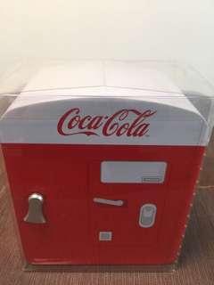 可口可樂 汽水機形鐡盒