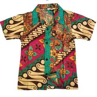 🚚 Batik shirt for Boys (1-3 years old)