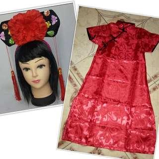 China Costume Set Rent or Sale