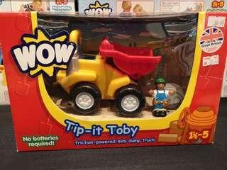 Tip It Toby Truck