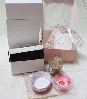Cake liners / box set
