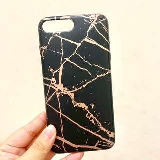 Black Marble Premium Quality Case for Iphone 7+/8+