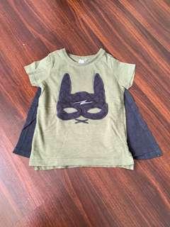 🚚 Cotton On Kids - Batman Tee with Cap