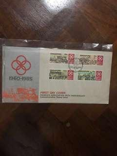 Spore First Day Cover