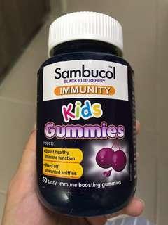 🚚 Sambucol Black Elderberry Gummies AUS