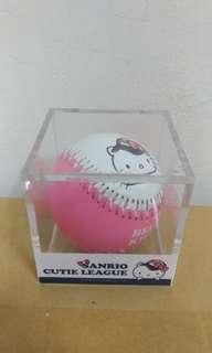【正版】Hello Kitty棒球 三麗鷗授權。台灣限定販售