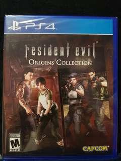 BNIB Ps4 Resident Evil Origins Collection