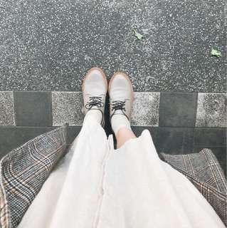 🚚 皮鞋 | 陳敬凱 客製化 手工訂做 極簡真皮皮鞋 羊皮 灰色 38號