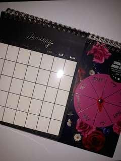 Typo Undated Calendar