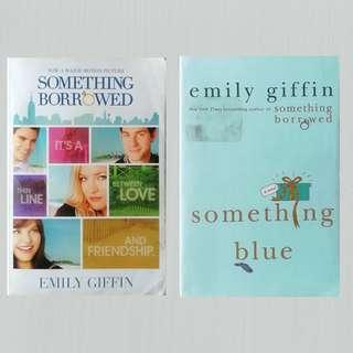 Something Borrowed & Something Blue (Darcy & Rachel duology) by Emily Giffin