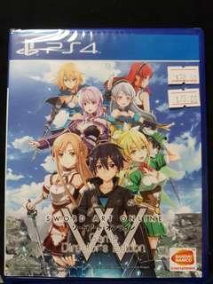 BNIB Ps4 Sword Art online Director's Edition