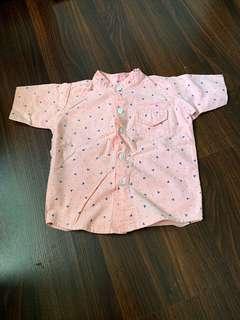 🚚 Kids - Pink Mickey Mouse Shirt
