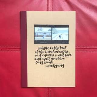 KPOP Inspired Customised Notebooks