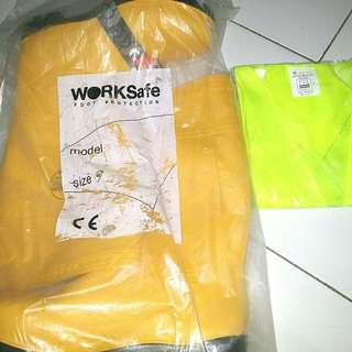 SAFETY BOOTS WORKSAFE Size 44