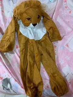Lion costume (animal)
