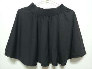 🚚 Black Skater Mini Skirt