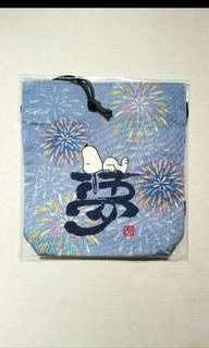 Snoopy Japanesque 2013 限定商品~Pouch (Brand-new)