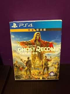 PS4 ghost recon wild fire