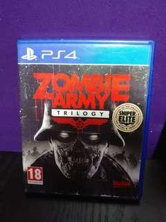 ps4 狙擊之神 zombie army