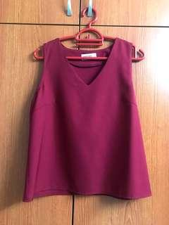 🚚 Playdress Red top