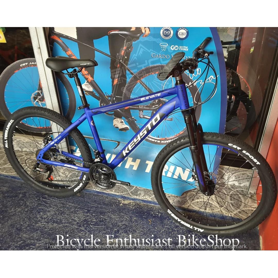 2019 Keysto Elevate 26 Steel Mountain Bike Bicycle Mtb Powered By