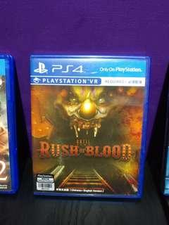 ps4 vr rush of blood