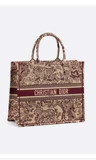 🚚 Dior 購物袋Book Tote