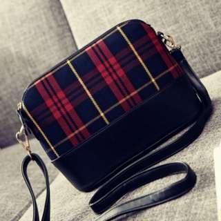 Brand new Checkered Sling Bag
