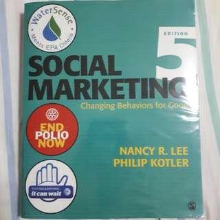 🚚 Social Marketing Textbook
