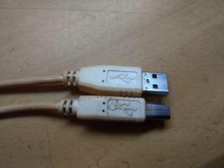 🚚 USB印表機接頭