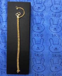 Specially for her? (21-cm, Golden Bracelet)?🇸🇬🇸🇬🇸🇬