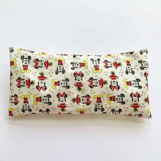 🚚 ⭐️Bean Sprout Husk Pillow / Beanie Pillow , Imported Fabric ( 100% Handmade 100% Cotton , Premium Quality!) 15 x 30 cm Mickey Minnie Disney