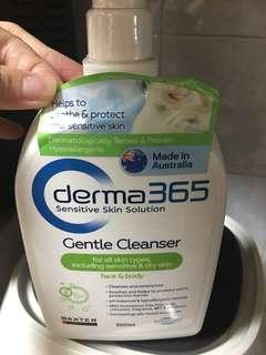 Derma gentle cleanser 365