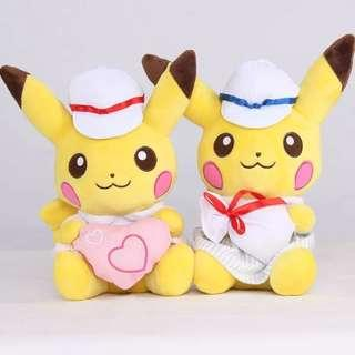 Pikachu couple Plush Toy