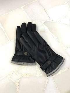 🚚 Winter Gloves Faux Leathet Touchscreen Compatible