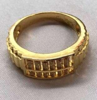 Abacus Design - 916 Gold Ring ❤️