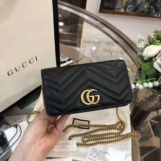 Authentic Pre-loved Gucci Wallet on Chain WOC