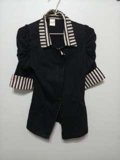 🚚 Black Vintage Blazer Jacket