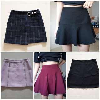 🚚 💫S's skirts | Refer to original listings.