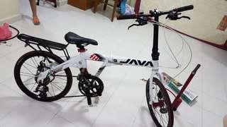 Javabike, Free heavy duty hand pump n accessories