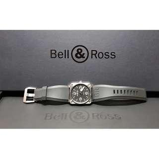 Authentic Bell & Ross BR03-92 Steel Automatic Watch